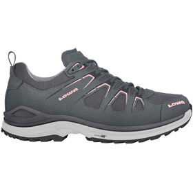 Lowa Innox Evo GTX Low Shoes Women asphalt/salmon